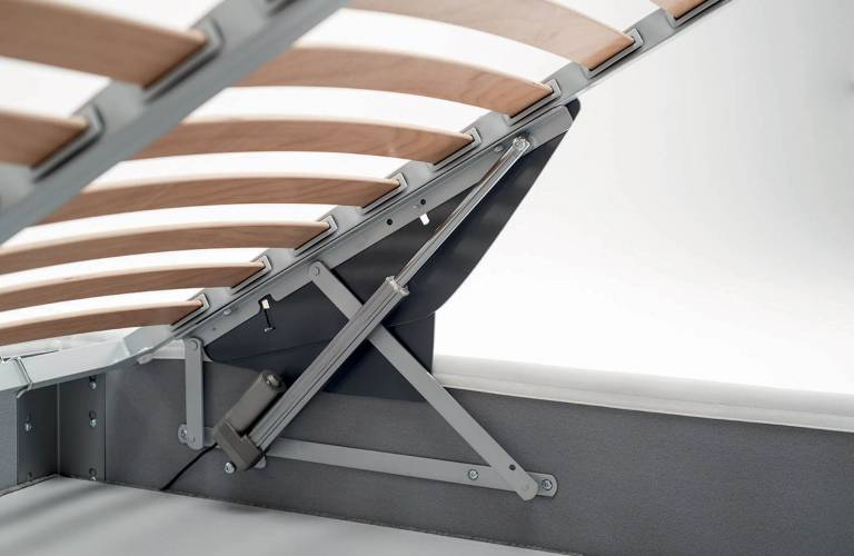 Sistema alzarete Pivot motorizzato - Bside Letti - Samoa